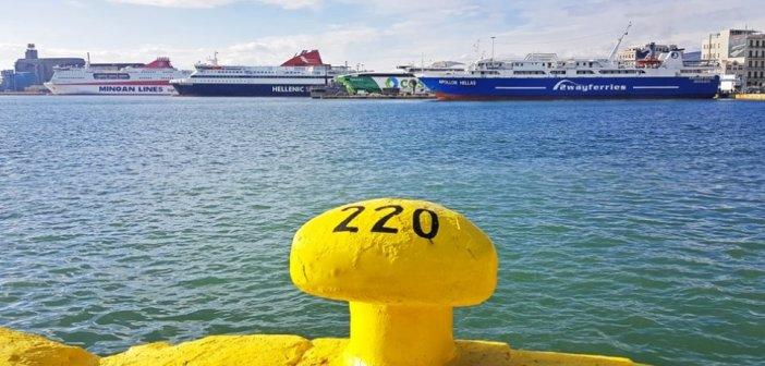 Χωρίς πλοία την Τρίτη 23 και Τετάρτη 24 Φεβρουαρίου – Απεργία 13 σωματείων ναυτεργατών