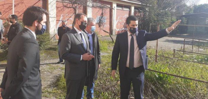 Αγρίνιο: Λιβανός και Παπαναστασίου στον Καπνικό Σταθμό για την αξιοποίησή του