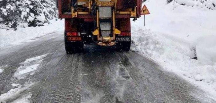 Δήμος Ναυπακτίας: Χωρίς προβλήματα στον Δήμο Ναυπακτίας συνεχίζεται η ψυχρή εισβολή της κακοκαιρίας «Μήδεια».