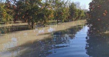 Από το Αγγελόκαστρο μέχρι και τις Οινιάδες: Πλημμυρισμένα 60.000 στρέμματα