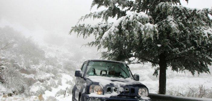 Καιρός – Προσοχή! Τι πρέπει να ξέρετε όταν οδηγείτε σε χιόνι
