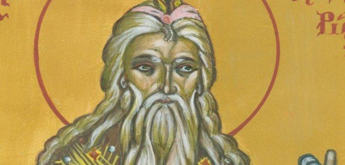 Σήμερα 08 Φεβρουαρίου τιμάται ο Προφήτης Ζαχαρίας