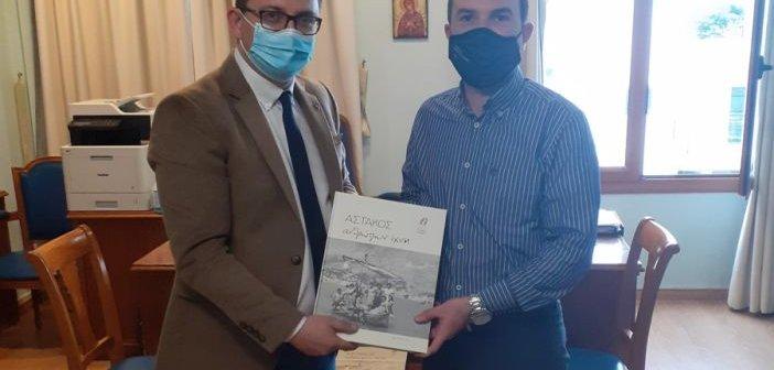 Ο Αντιπεριφερειάρχης Λ. Δημητρογιάννης σε σύσκεψη εργασίας για περιβαλλοντικά ζητήματα στο Δήμο Ξηρομέρου