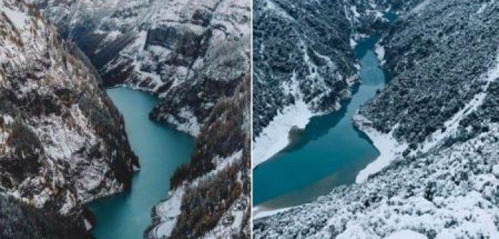 Μαντέψτε: Ποια φωτο απεικονίζει την ομορφιά στο Περδικακι Αιτωλοακαρνανίας και ποια της Ελβετίας