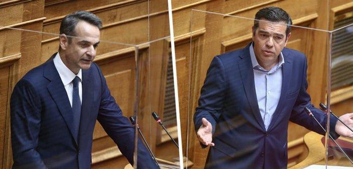 Οι δηλώσεις Μητσοτάκη-Τσίπρα  στη Βουλή για την αστυνομική βία