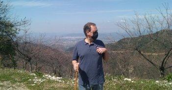 Με γκλίτσα στον Αράκυνθο ο Σπ. Λιβανός