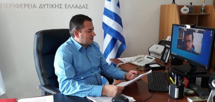 Η Περιφέρεια Δυτικής Ελλάδας συμμετέχει στην πρώτη διαδικτυακή έκθεση τροφίμων και ποτών