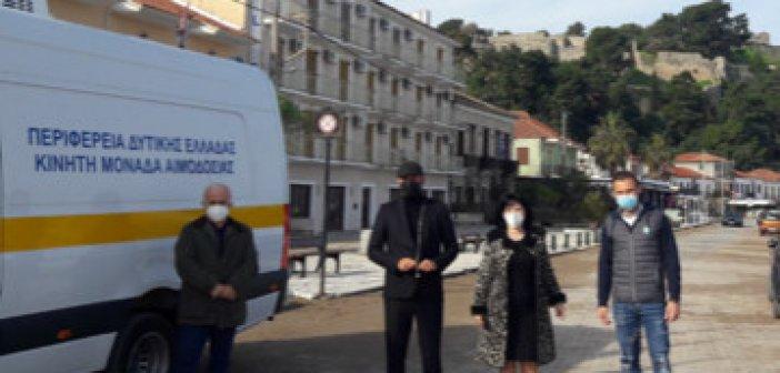 Δειγματοληπτικοί έλεγχοι για κορονοϊό στη Βόνιτσα από την Π.Ε Αιτωλοακαρνανίας