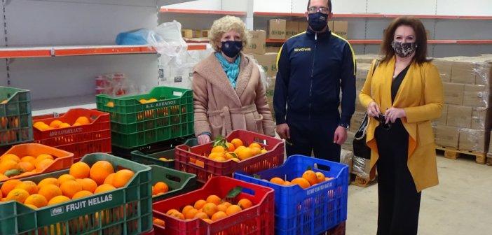 Αγρίνιο: 1000 κιλά πορτοκάλια στο Κοινωνικό Παντοπωλείο από τον «ΣΤΡΑΤΙΟΣ ΖΕΥΣ»