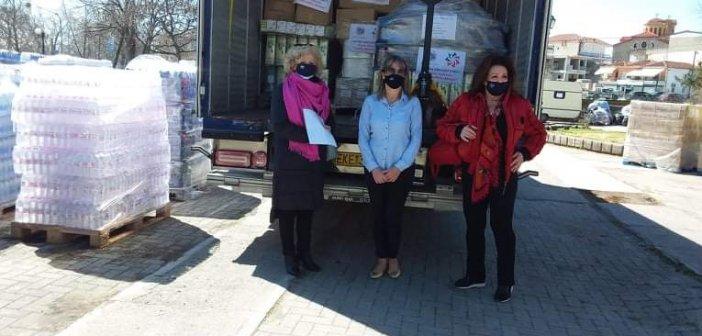 Στο πλευρό των κατοίκων της Ελλασόνας οι Εθελοντές Δήμου Αγρινίου