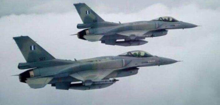 Ζεύγος F-16 θα κάνει τιμητική διέλευση πάνω από την Αιτωλοακαρνανία