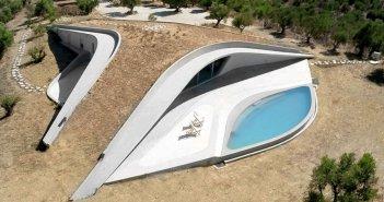 Βίλα στην Πελοπόννησο είχε βραβευτεί ως η εντυπωσιακότερη κατοικία του κόσμου και το εσωτερικό της μαγεύει