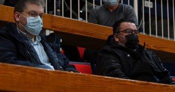 Μαζί παρακολούθησαν το Παναθηναϊκός – Μεσολόγγι οι Τριαντόπουλος – Παπανικολάου