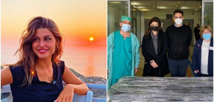 Δανάη Παππά: Πράξη ανθρωπιάς από την ηθοποιό – Δώρισε κρεβάτια στο Γενικό Κρατικό Νίκαιας