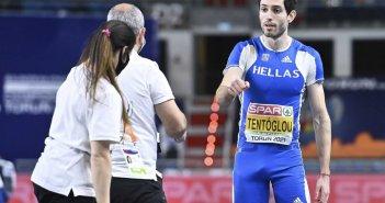 Μίλτος Τεντόγλου: Ο εθνικός ύμνος ακούστηκε στο Τορούν, η απονομή του Έλληνα πρωταθλητή (video)