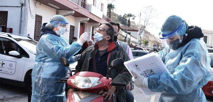 Κορωνοϊός: Κοντά στα 1.200 τα κρούσματα σήμερα στη χώρα