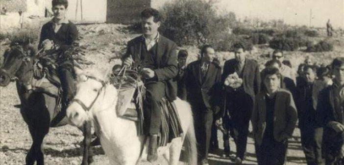Η υποδοχή του Μίκη Θεοδωράκη στην Παπαδάτου Ξηρομέρου το 1964