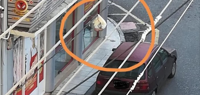 Αγρίνιο: Πετάνε τα σκουπίδια από το μπαλκόνι και καρφώνουν τα καλώδια της ΔΕΗ (ΦΩΤΟ)