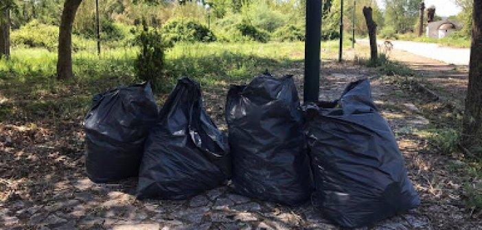 Εθελοντική δράση καθαριότητας στα Αμπάρια Παναιτωλίου