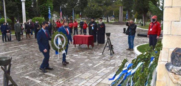 Ναύπακτος: Η AHEPA τιμά την Έξοδο του Μεσολογγίου (ΦΩΤΟ)