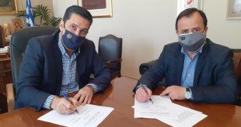 Δήμος Αγρινίου – ΤΕΕ: Προγραμματική σύμβαση για τους κοινόχρηστους χώρους