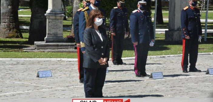 Μεσολόγγι: Παρουσία της Προέδρου της Δημοκρατίας και της Γιάννας Αγγελοπούλου – Δασκαλάκη η κορύφωση των εκδηλώσεων (ΦΩΤΟ)