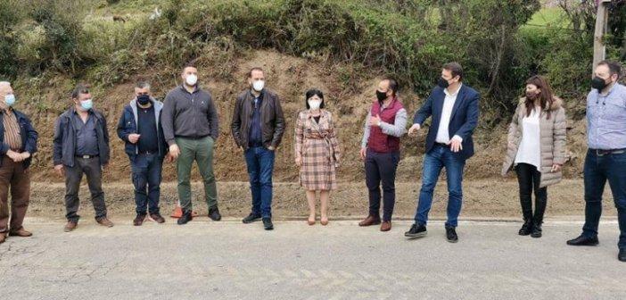 Επίσκεψη Ν.Φαρμάκη σε οδικά έργα στον ορεινό Βάλτο και στην δυτική ακτή της Αιτωλοακαρνανίας