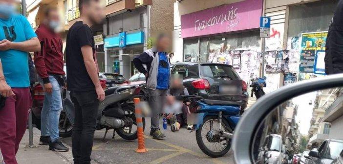 Αγρίνιο: Τροχαίο με τραυματισμό στη συμβολή των οδών Σουλίου και Δημοτσελίου