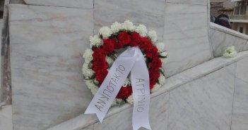 """Ανυπότακτο Αγρίνιο- Κατάθεση στεφάνου στο μνημείο των «120»: 77 χρόνια από την """"ματωμένη"""" Μ. Παρασκευή"""
