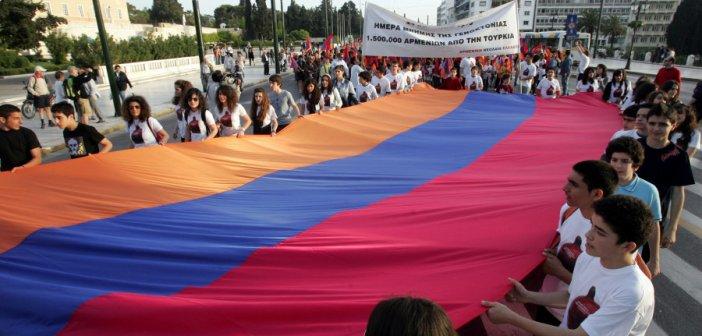 """""""Ένδειξη  πυγμής η αναγνώριση της γενοκτονίας των Αρμενίων από τις ΗΠΑ"""" , λέει ο Στ. Αμπαριάν στον """"Δυτικά Fm 92.8"""""""