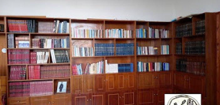 Δανειστική η βιβλιοθήκη του Πολιτιστικού Συλλόγου Μπαμπίνης