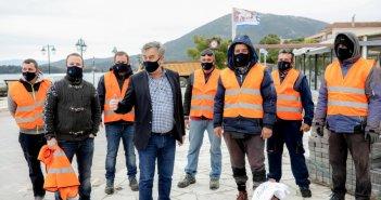 Ελληνική Οργάνωση Παραγωγών Υδατοκαλλιέργειας: Καθαρισμός λιμανιού Βόνιτσας (ΦΩΤΟ)