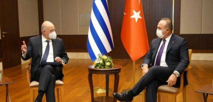 Τσαβούσογλου σε Δένδια: Ο Ερντογάν πρότεινε Σύνοδο για την ανατολική Μεσόγειο