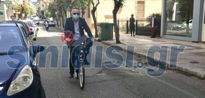 Αγρίνιο: Στη δουλειά με το ηλεκτρικό ποδήλατο – Εγκαινιάζονται νέες συνήθειες