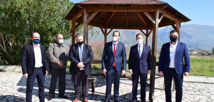 Λιμνοθάλασσα Μεσολογγίου: Έργα 21,4 εκατ. ευρώ ανακοίνωσε ο Λιβανός