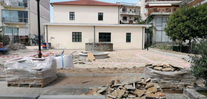 """Αγρίνιο: Αλλάζει όψη η περιοχή στο παλαιό """"Ηλεκτρικό Εργοστάσιο Φωτισμού"""""""