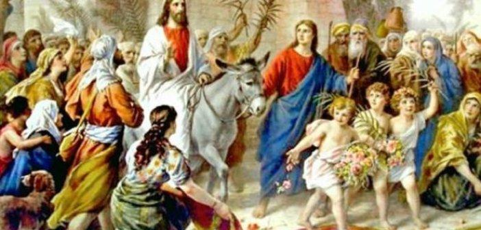 Κυριακή των Βαΐων: Τί γιορτάζουμε σήμερα