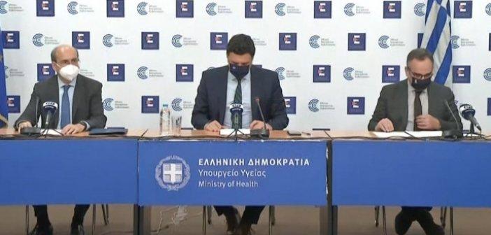 Χατζηδάκης: Υποχρεωτικά self test σε λιανεμπόριο, μεταφορές, κομμωτήρια