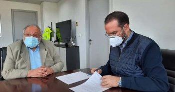 Εργασίες συντήρησης σήμανσης και ασφάλισης στο Εθνικό Οδικό Δίκτυο της Αχαΐας