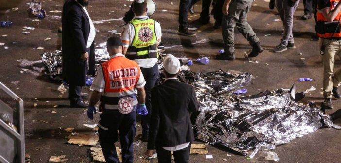 Ισραήλ: Απόλυτη φρίκη στην Μερόν! Υποχώρησε εξέδρα και «έλιωσαν» ο ένας τον άλλον (pics, video)