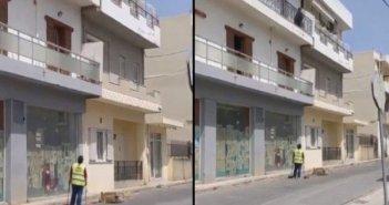 Κρήτη: «Δουλειά σου είναι» φώναξε από το μπαλκόνι ηλικιωμένη στην καθαρίστρια του Δήμου