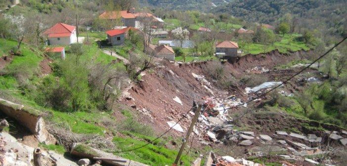 Η κατολίσθηση στην Κλεπά ακόμη περιμένει