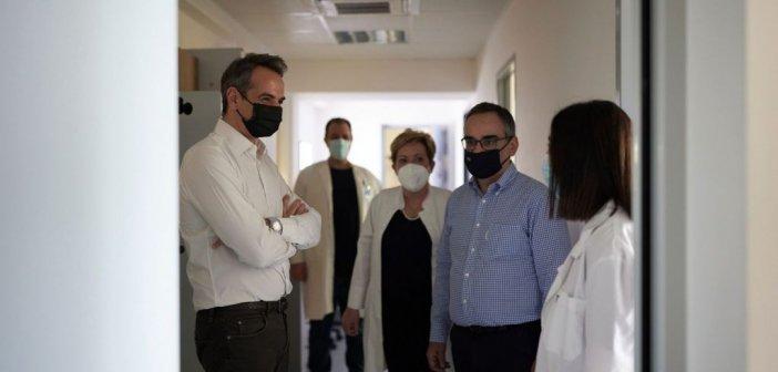 Μητσοτάκης: Τελειώνουμε με την πανδημία – Ξεκινά το χτίσιμο του νέου ΕΣΥ