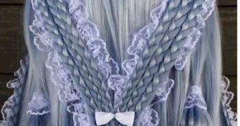 «Επένδυσε» στην κοτσίδα κάνοντας τέχνη – Εντυπωσιάζουν οι δημιουργίες 21χρονου hairstylist