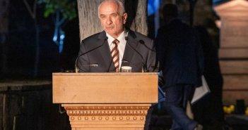 Ομιλία του Δημάρχου Μεσολογγίου Κώστα Λύρου το Σάββατο του Λαζάρου 24 Απριλίου στον Κήπο των Ηρώων