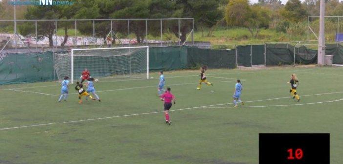 Α'Εθνική γυναικών: Γκολ για την ΑΕΚ Μεσολογγίου στα 11 δευτερόλεπτα (VIDEO)