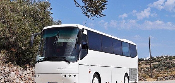Έκτακτη επιδότηση σε επιχειρήσεις που διαθέτουν τουριστικά λεωφορεία