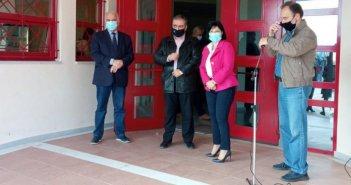 Επίσκεψη της Αντιπεριφερειάρχη Π.Ε.Αιτωλοακαρνανίας, Μαρίας Σαλμά στο 2ο ΓΕΛ Μεσολογγίου