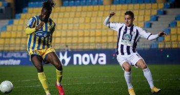 """Παναιτωλικός – Απόλλων Σμύρνης 1-0: Νίκη """"ανάσα"""" για την παραμονή"""