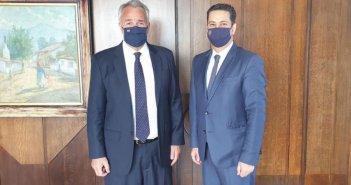 Συνάντηση του δημάρχου Αγρινίου με τον υπουργό Εσωτερικών για την καθιέρωση της 11ης Ιουνίου ως ημέρα εορτής και αργίας